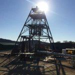 Blanket Mine using Knelson concentrators